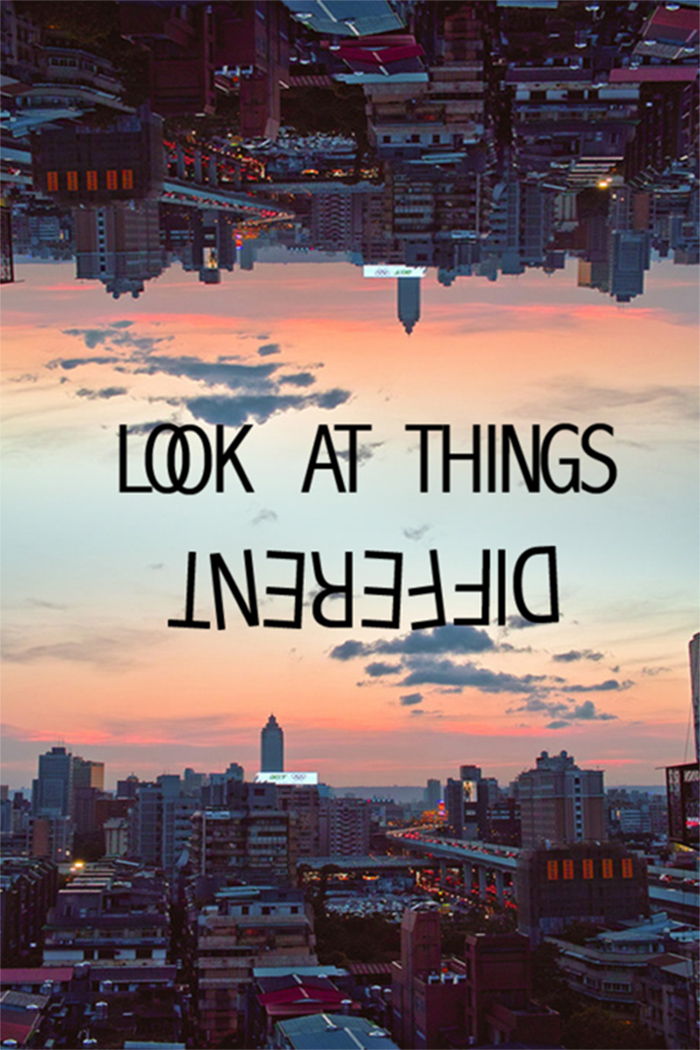look at things differently copy